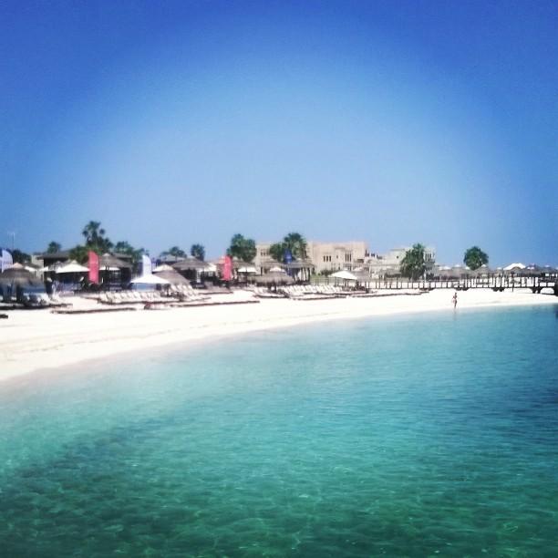 Al Maya Island Beach Abu Dhabi