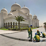Things to do with Visitors in Abu Dhabi | Grand Mosque