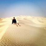 Things to do with Visitors in Abu Dhabi | Desert Safari