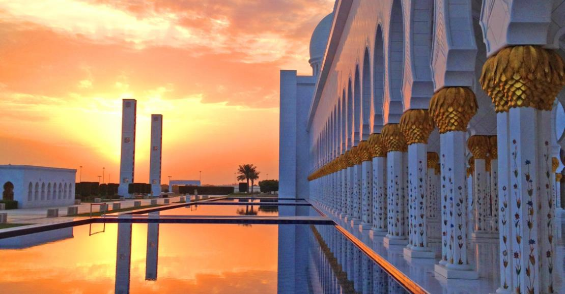 Top Things to do with Visitors in Abu Dhabi | Grand Mosque Cover