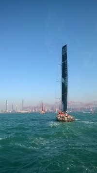 Abu Dhabi on a dirham | Volvo Ocean Race